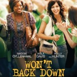 Won't Back Down Movie Font