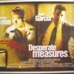 Desperate Measures Movie Font