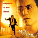 Nick of Time Movie Font
