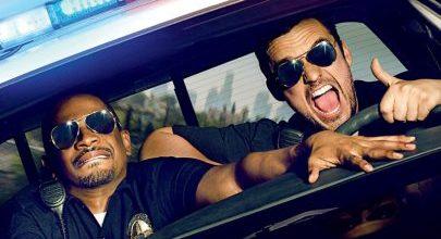 Let's Be Cops Movie Font