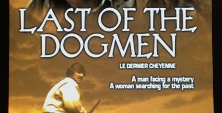 Last of the Dogmen Movie Font