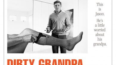 Dirty grandpa Movie Font